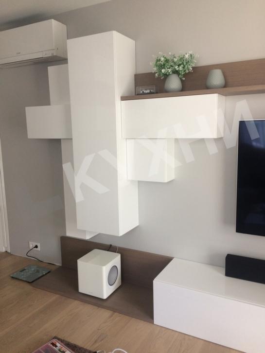 Гостиная - Крашеный МДФ RAL9016