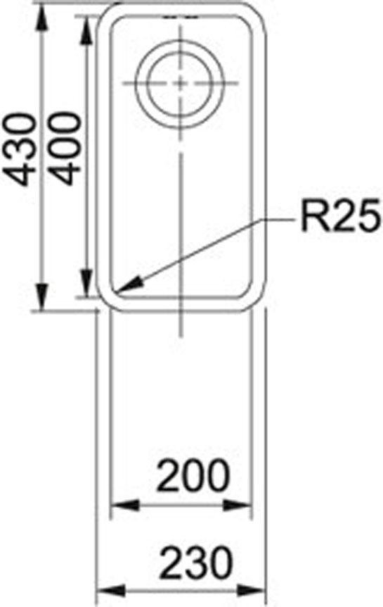 Franke Kubus-KBX 110-20