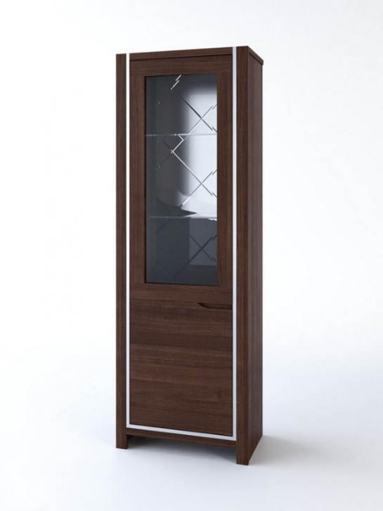 Шкаф витрина одностворчатый «СМШВ-1»