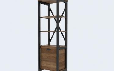 Шкаф с открытыми полками «Денвер»