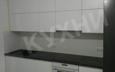 Крашеный МДФ RAL9003 матовый ручки КВ-1/КВ-2