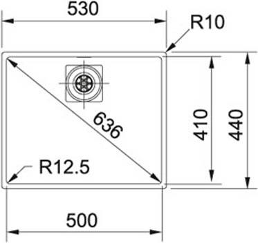 Franke Centinox-CMX 110-50
