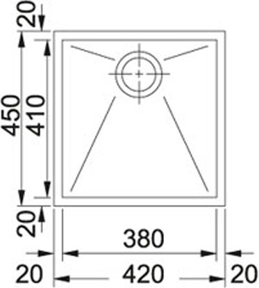 Franke Planar-PPX 110-38