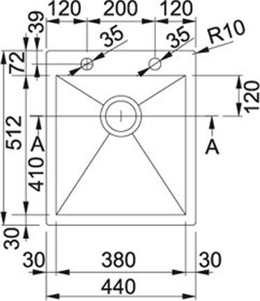 Franke Planar-PPX 210-44 TL